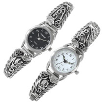 Native American Silver Watch Choice of Timepiece 41311