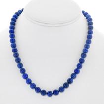 Beaded Lapis Necklace Jewelry Set 41349
