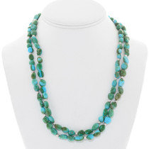 Blue Green Turquoise Beaded Necklace 41351