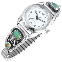 Green Turquoise Native American Watch 41379