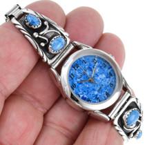 Native American Denim Lapis Watch 41380