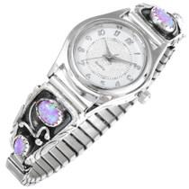 Sterling Silver Opal Watch 41381