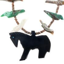 Native American Animal Fetish Necklace Horse Centerpiece 41388