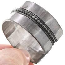 Old Pawn Sterling Silver Native American Bracelet 40809