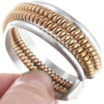 12KGF Twistwire Sterling Silver Bracelet 41402