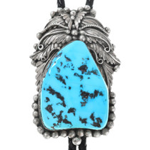 Old Pawn Sleeping Beauty Turquoise Bolo Tie 41413
