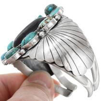 Native American Black Onyx Turquoise Bracelet