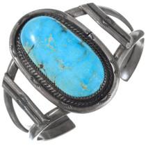 Old Pawn Turquoise Navajo Bracelet 41427