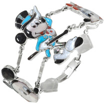 Zuni Mickey Mouse Tennis Bracelet 41431
