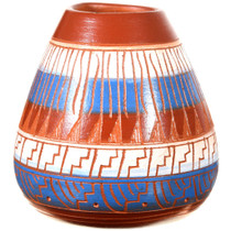 Painted Polychrome Native American Pottery 37322
