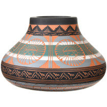 Painted Polychrome Native American Pottery 37323