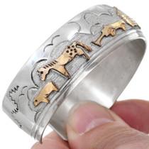 Storyteller Design Gold Native American Bracelet 41442