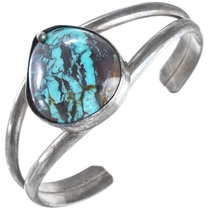 Old Pawn Turquoise Sterling Silver Cuff Bracelet 41444