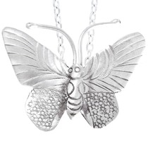 Sterling Silver Butterfly Pendant 41447