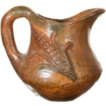 Vintage Native American Pottery Pitcher 37329