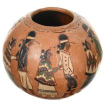 Small Vintage Figural Hopi Seed Pot 37330