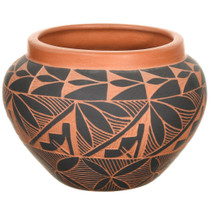Vintage Acoma Etched Pottery 37333