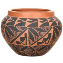 Acoma Sky City Design Olla Pottery 37333