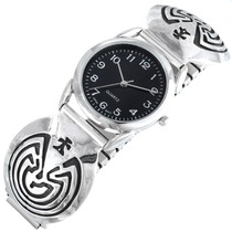 Native American Man in the Maze Watch 41466