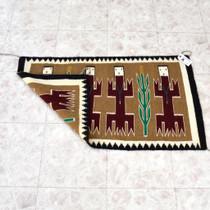 Wool Navajo Rug Dragon People Design 41489