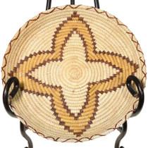 Vintage Papago Polychrome Basket 41494