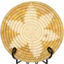 Vintage Papago Indian Basket Tray 41496