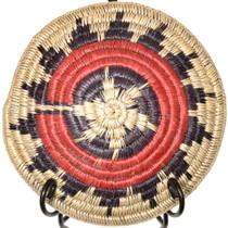Vintage Navajo Made Woven Willow Wedding Basket 41502