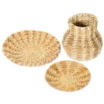 Small Vintage Tohono O'odham Papago Baskets Set of Three 41503