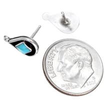 Petite Zuni Turquoise Post Earrings 41506