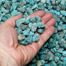 Sonoran Gold Campitos Turquoise Rough Nuggets 37340