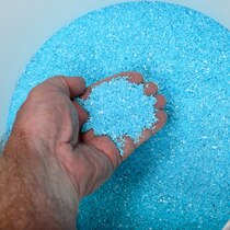 Fine Grain Sky Blue Turquoise Chips 37341