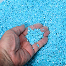 Coarse Grain Sky Blue Turquoise Chips 37341