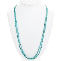 Vintage Navajo Turquoise Heishi Necklace 41513