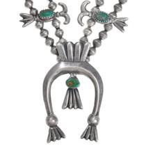 Vintage 1960s Squash Blossom Necklace 41517