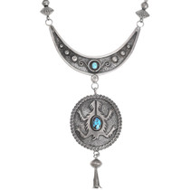 Horned Lizard Native American Necklace 41519
