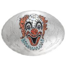 Silver Rodeo Clown Belt Buckle 41520