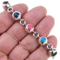 Vintage Multistone Link Bracelet 41537