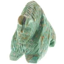 Carved Turquoise Bear Fetish 37343