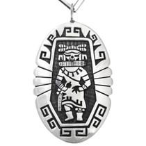 Sterling Silver Hope Kachina Pendant 41544