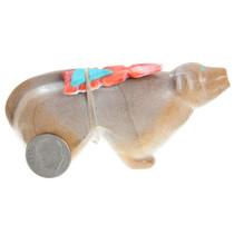 Dog Carving Zuni Fetish Arrowhead Bundle 37353
