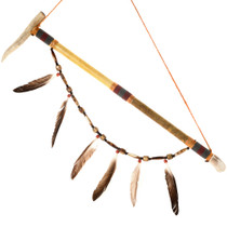 Navajo Antler Peace Pipe 41527