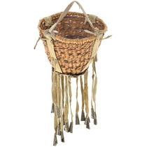 Vintage Apache Indian Burden Basket 41585