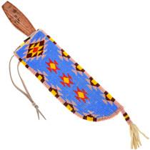 Vintage Oglala Lakota Sioux Indian Beaded Knife Sheath 41589