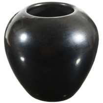 Vintage San Ildefonso Blackware Pottery 41603