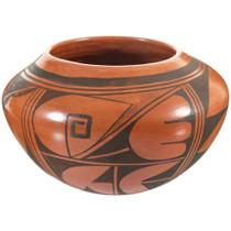 Hopi Redware Pottery Bowl 41605