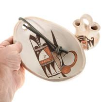 Vintage Hopi Whiteware Pottery Set of Two 0081