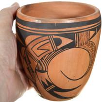 Hand Painted Hopi Rainbirds Pattern Pottery 41607