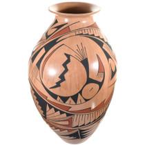 Mata Ortiz Polychrome Olla Pottery 41609