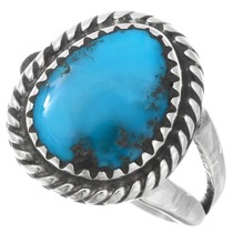 Native American Blue Turquoise Ring 41613