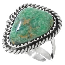 Natural Royston Turquoise Ring 41616
